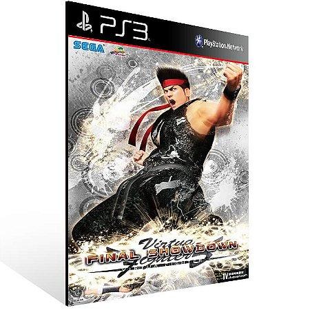 Virtua Fighter 5 Final Showdown - Ps3 Psn Mídia Digital