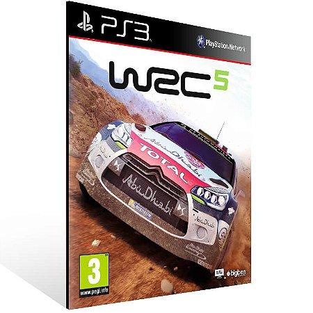 WRC 5 Fia World Rally Championship - Ps3 Psn Mídia Digital