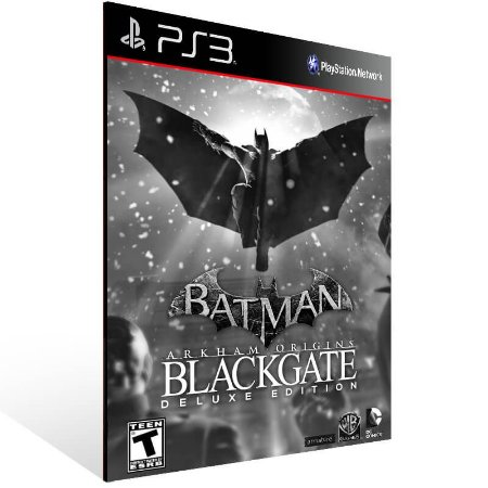 Batman Arkham Origins Blackgate Deluxe Edition - Ps3 Psn Midia Digital