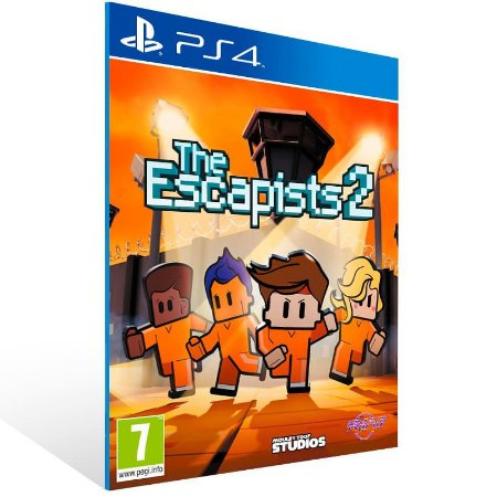 The Escapists 2 - Ps4 Psn Mídia Digital