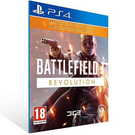 Battlefield 1 Revolution - Ps4 Psn Mídia Digital