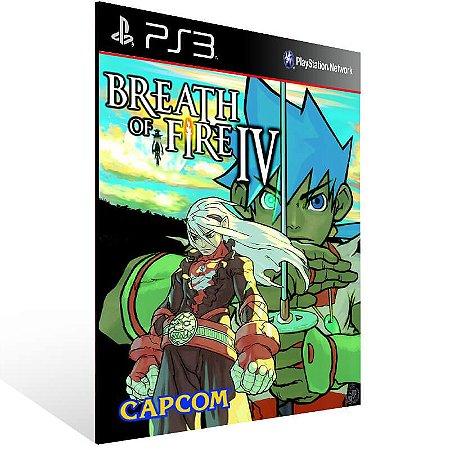 Breath Of Fire 4 - PS3 Psn Mídia Digital