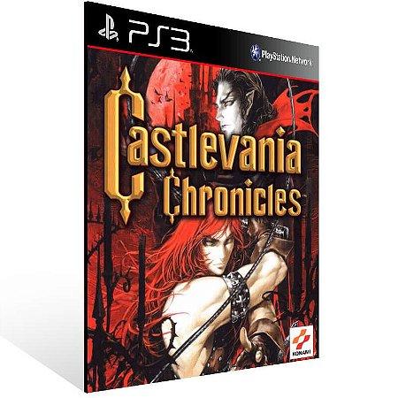 Castlevania Chronicles - Ps3 Psn Mídia Digital