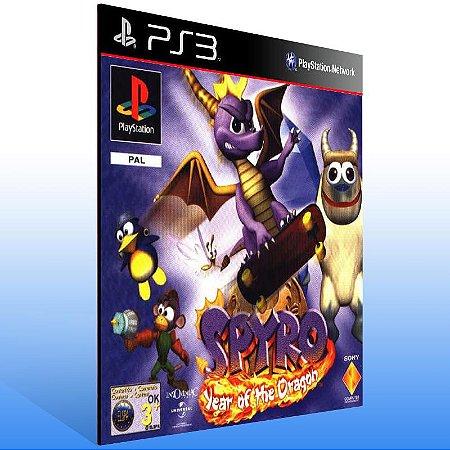 Spyro Year Of The Dragon (Psone Classic) - Ps3 Psn Mídia Digital
