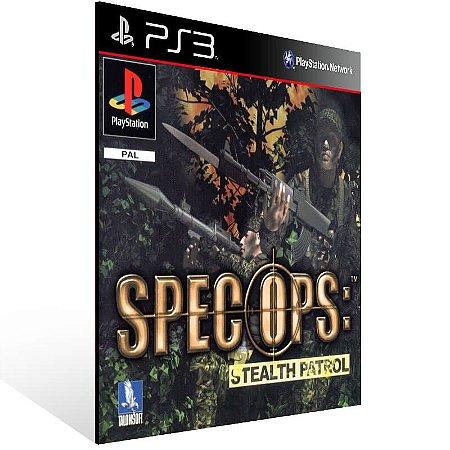 Spec Ops Stealth Patrol (Psone Classic) - Ps3 Psn Mídia Digital
