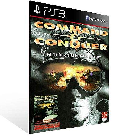Command Conquer - Ps3 Psn Mídia Digital