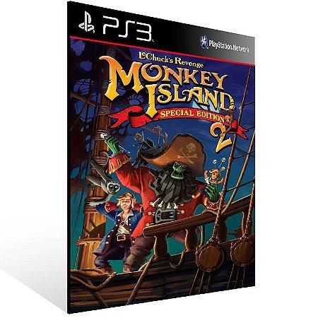 Monkey Island 2 Special Edition Lechuck Revenge - Ps3 Psn Mídia Digital