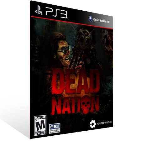 Dead Nation - Ps3 Psn Mídia Digital
