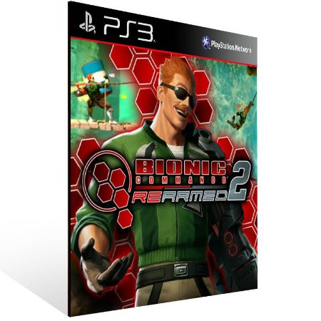 Bionic Commando Rearmed 2 - Ps3 Psn Mídia Digital