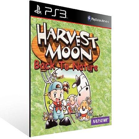 Harvest Moon Back To Nature (Psone Classic) - Ps3 Psn Mídia Digital