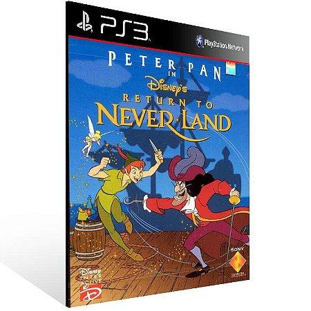 Peter Pan Return To Never Land (Psone Classic) - Ps3 Psn Mídia Digital