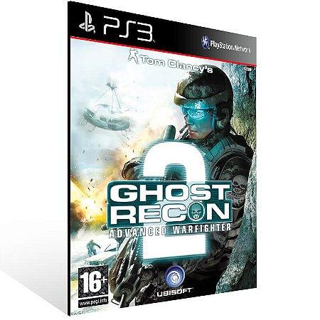Tom Clancy's Ghost Recon Advanced Warfighter 2 - Ps3 Psn Mídia Digital
