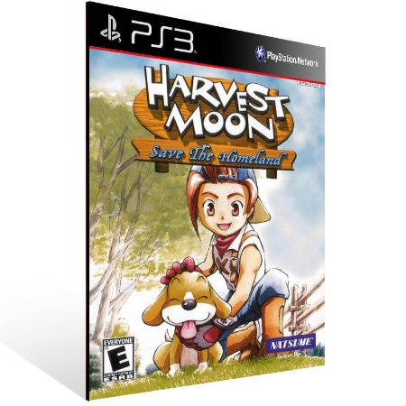 Harvest Moon Save The Homeland (Ps2 Classic) - Ps3 Psn Mídia Digital