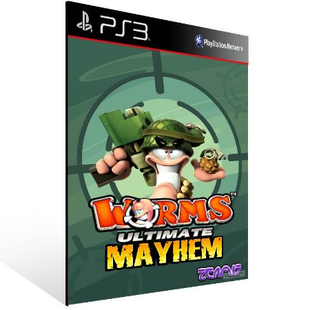 Worms Ultimate Mayhem - Ps3 Psn Mídia Digital