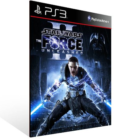 Star Wars The Force Unleashed 2 - Ps3 Psn Mídia Digital