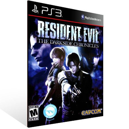 Resident Evil The Darkside Chronicles - Ps3 Psn Mídia Digital