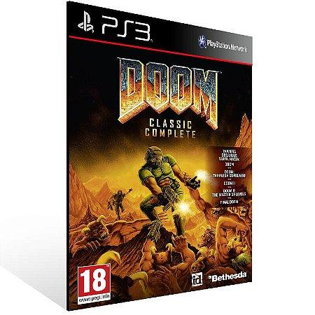 Doom Classic Complete - Ps3 Psn Mídia Digital