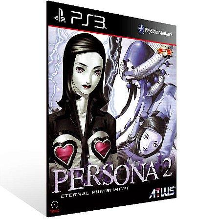 Persona 2 Eternal Punishment (Psone Classic) - Ps3 Psn Mídia Digital