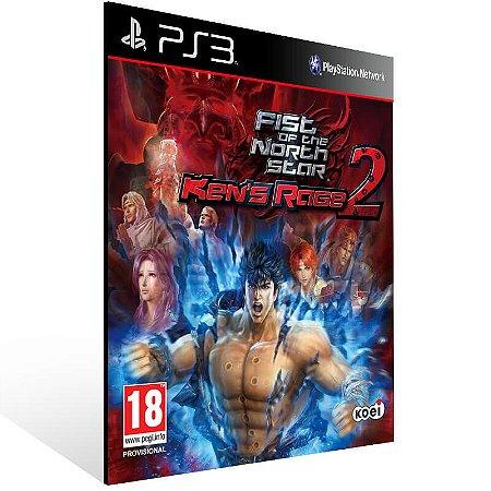 Fist Of The North Star Ken's Rage 2 - Ps3 Psn Mídia Digital
