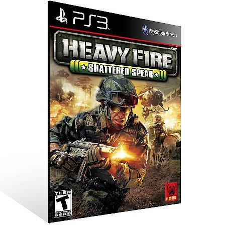 Heavy Fire Shattered Spear - Ps3 Psn Mídia Digital