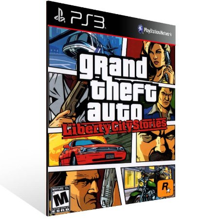 Grand Theft Auto Liberty City Stories (Ps2 Classic) - Ps3 Psn Mídia Digital