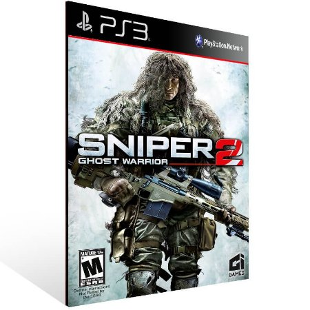 Sniper Ghost Warrior 2 - Ps3 Psn Mídia Digital