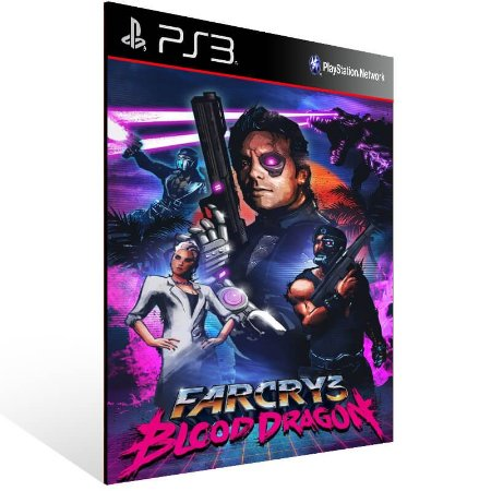 Far Cry 3 Blood Dragon - Ps3 Psn Mídia Digital