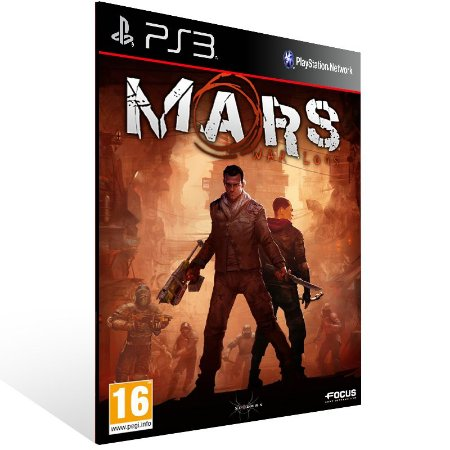 Mars War Logs - Ps3 Psn Mídia Digital