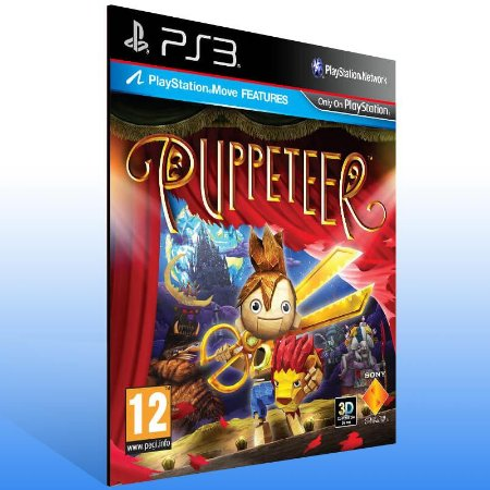 Puppeteer - Ps3 Psn Mídia Digital