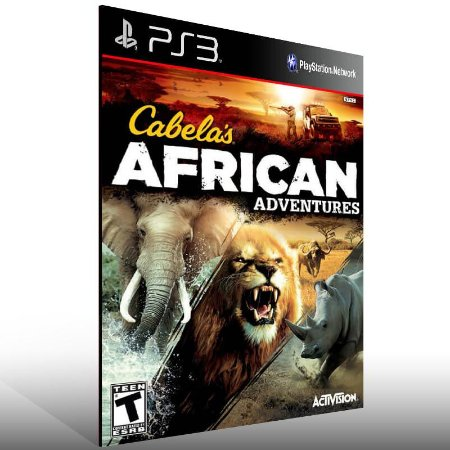 Cabela African Adventures - Ps3 Psn Mídia Digital