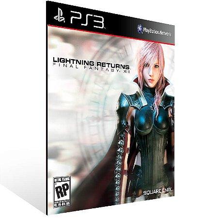 Lightning Returns Final Fantasy 13 - Ps3 Psn Mídia Digital