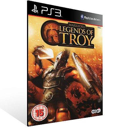Warriors Legends Of Troy - Ps3 Psn Mídia Digital