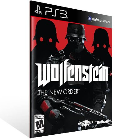 Wolfenstein The New Order - Ps3 Psn Mídia Digital