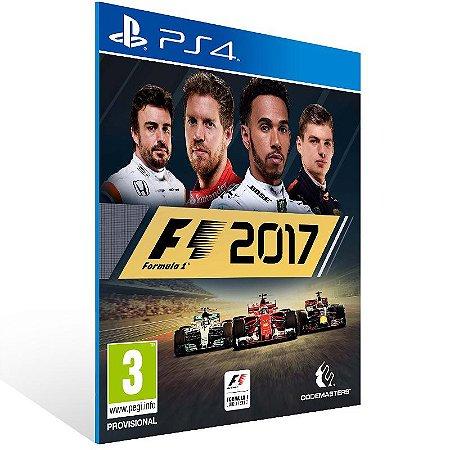 F1 2017 - Ps4 Psn Mídia Digital