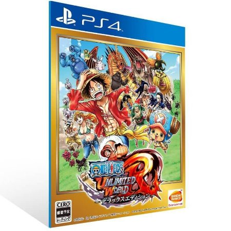 One Piece Unlimited World Red Deluxe Edition - Ps4 Psn Mídia Digital