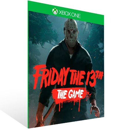 Friday The 13Th The Game - Xbox One Live Mídia Digital