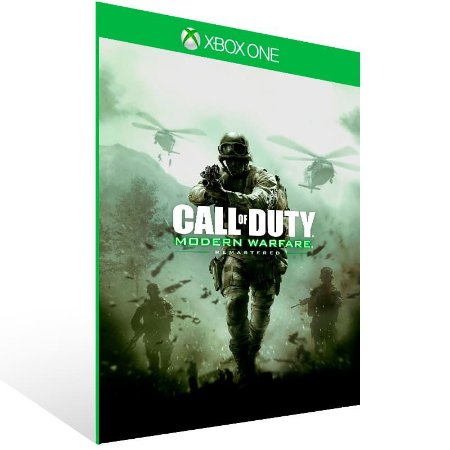 Call of Duty Modern Warfare Remastered - Xbox One Live Mídia Digital