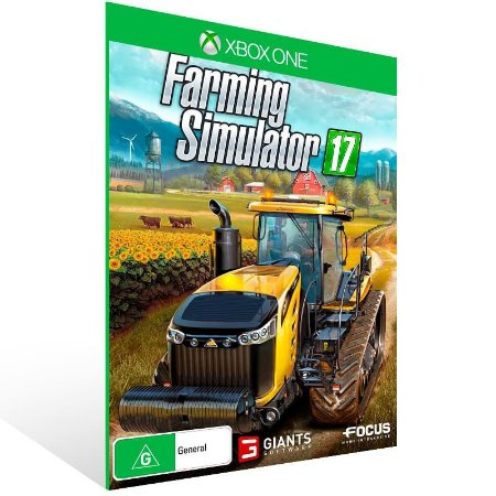 Farming Simulator 17 - Xbox One Live Mídia Digital
