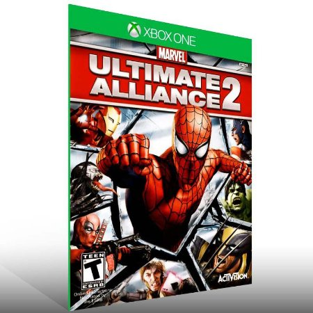 Marvel Ultimate Alliance 2 - Xbox One Live Mídia Digital