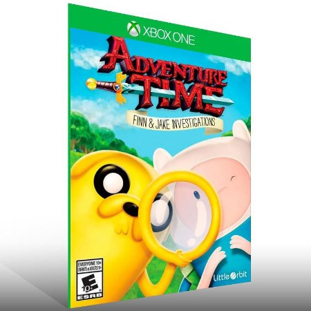 Adventure Time: As investigacoes de Finn e Jake - Xbox One Live Mídia Digital