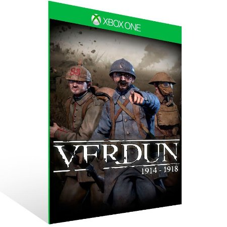 Verdun - Xbox One Live Mídia Digital