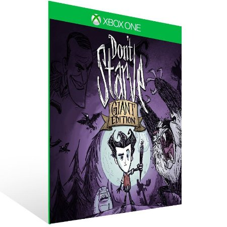 Dont Starve: Giant Edition - Xbox One Live Mídia Digital