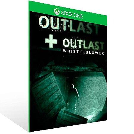 Outlast Bundle Of Terror - Xbox One Live Mídia Digital