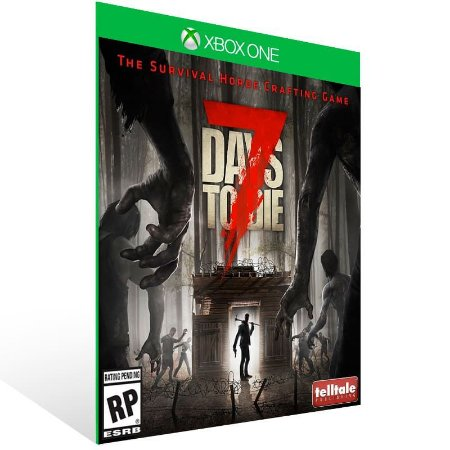 7 Days To Die - Xbox One Live Mídia Digital
