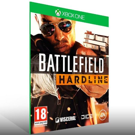 Battlefield Hardline - Xbox One Live Mídia Digital