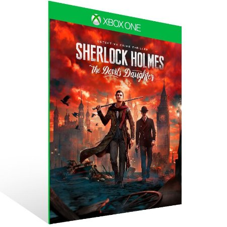 Sherlock Holmes The Devils Daughter - Xbox One Live Mídia Digital