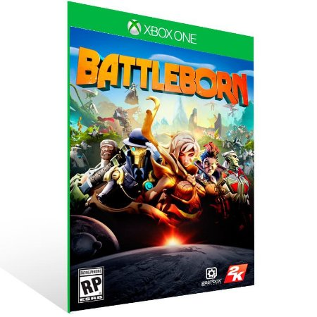 Battleborn - Xbox One Live Mídia Digital