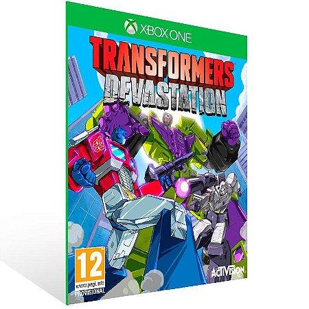 Transformers Devastation - Xbox One Live Mídia Digital