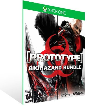 Pacote Prototype Biohazard - Xbox One Live Mídia Digital