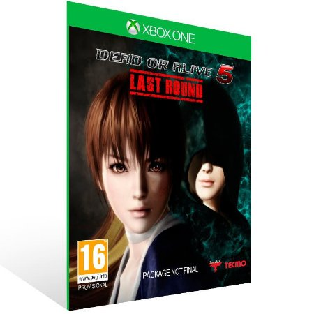 Dead or Alive 5 Last Round - Xbox One Live Mídia Digital